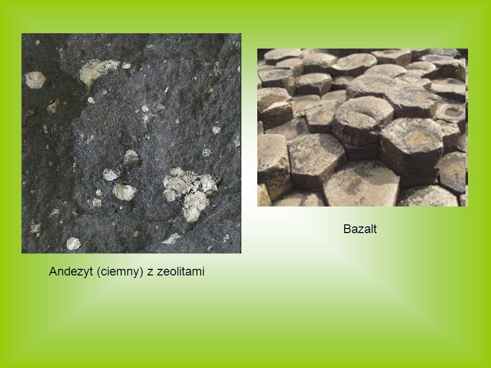 Bazalt Andezyt (ciemny) z zeolitami