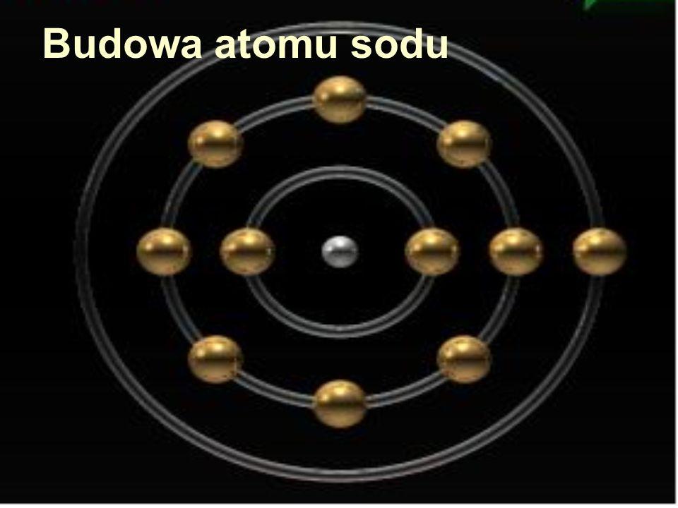 Budowa atomu sodu