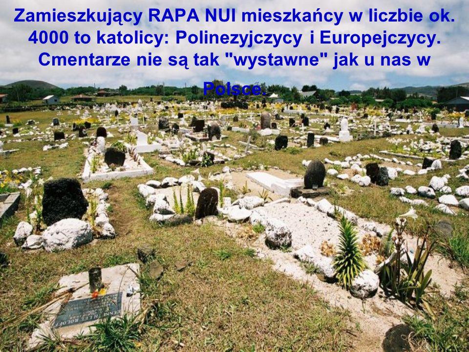 Zamieszkujący RAPA NUI mieszkańcy w liczbie ok