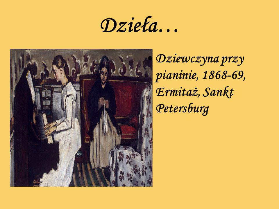 Dzieła… Dziewczyna przy pianinie, 1868-69, Ermitaż, Sankt Petersburg