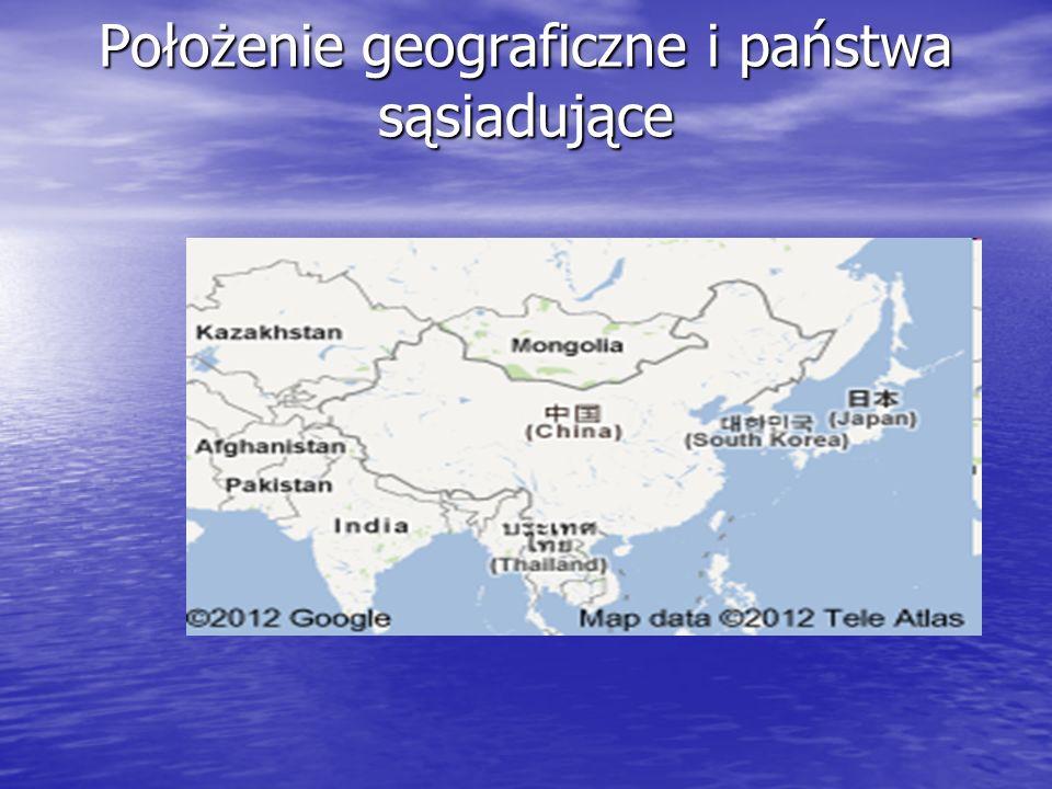 Położenie geograficzne i państwa sąsiadujące