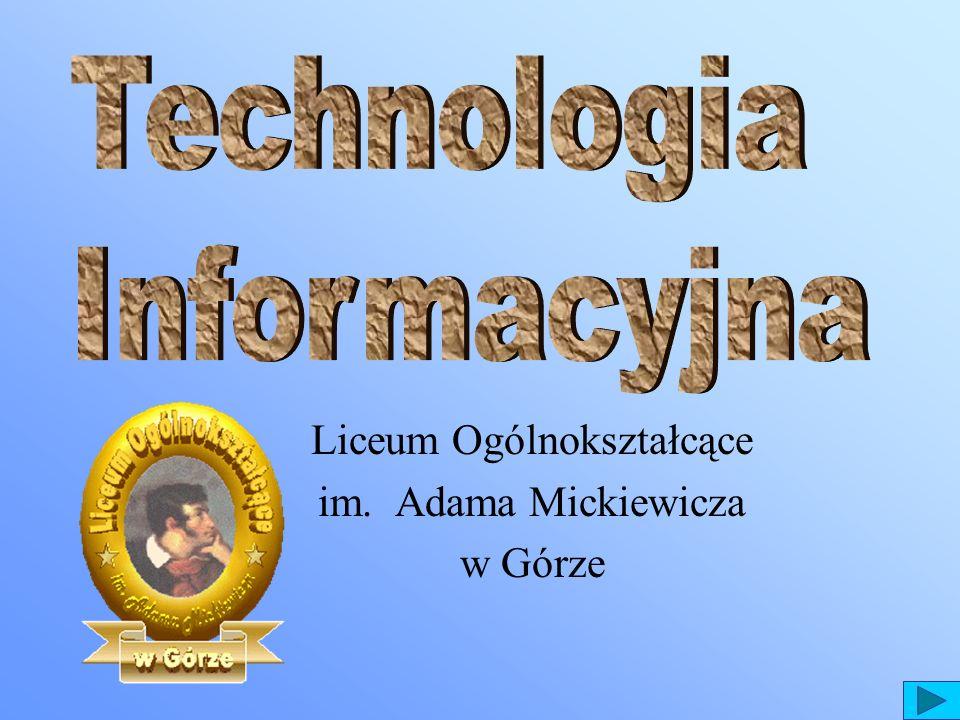Liceum Ogólnokształcące im. Adama Mickiewicza w Górze