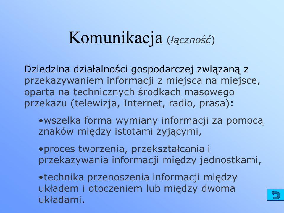 Komunikacja (łączność)