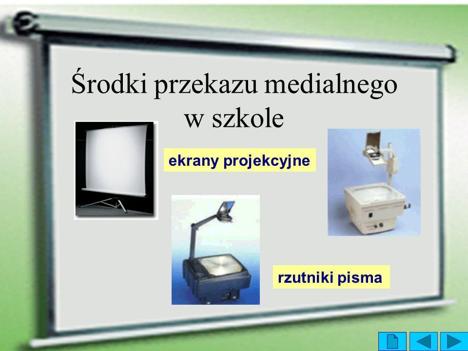 Środki przekazu medialnego w szkole