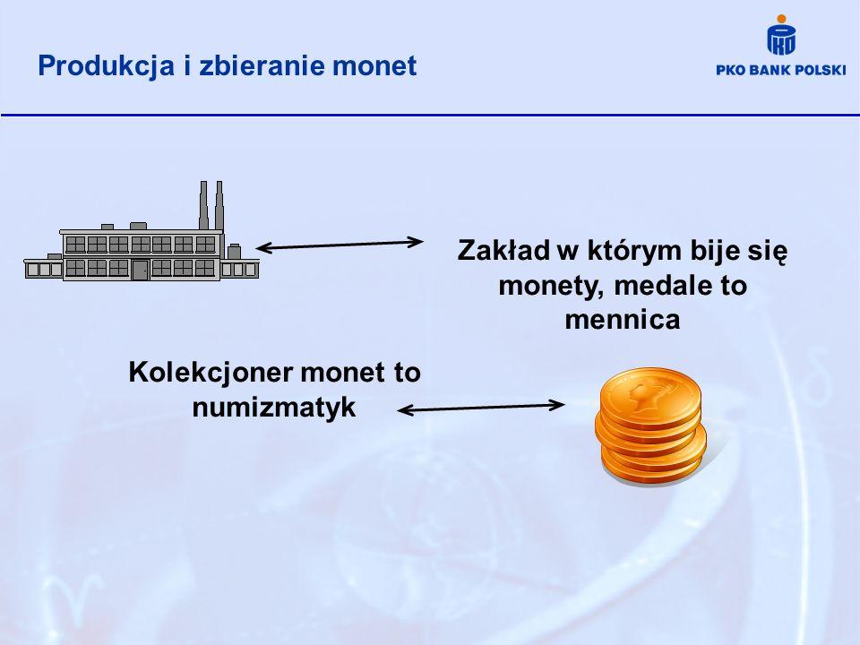 Produkcja i zbieranie monet
