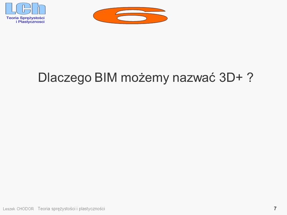 Dlaczego BIM możemy nazwać 3D+