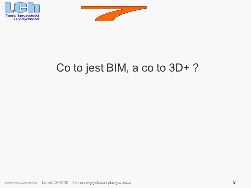7 Co to jest BIM, a co to 3D+