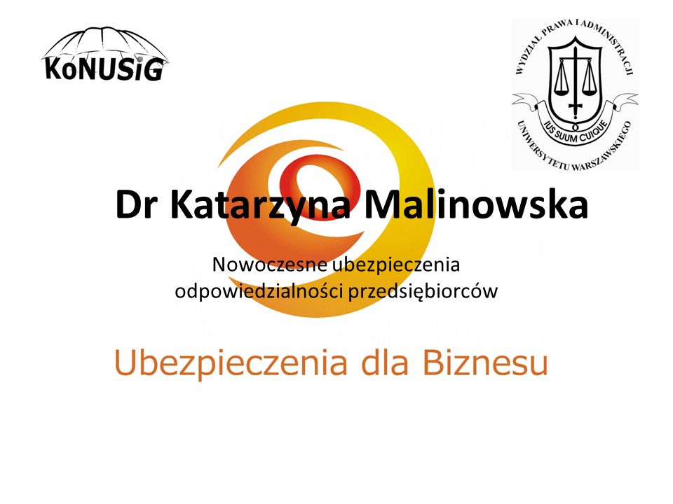 Dr Katarzyna Malinowska