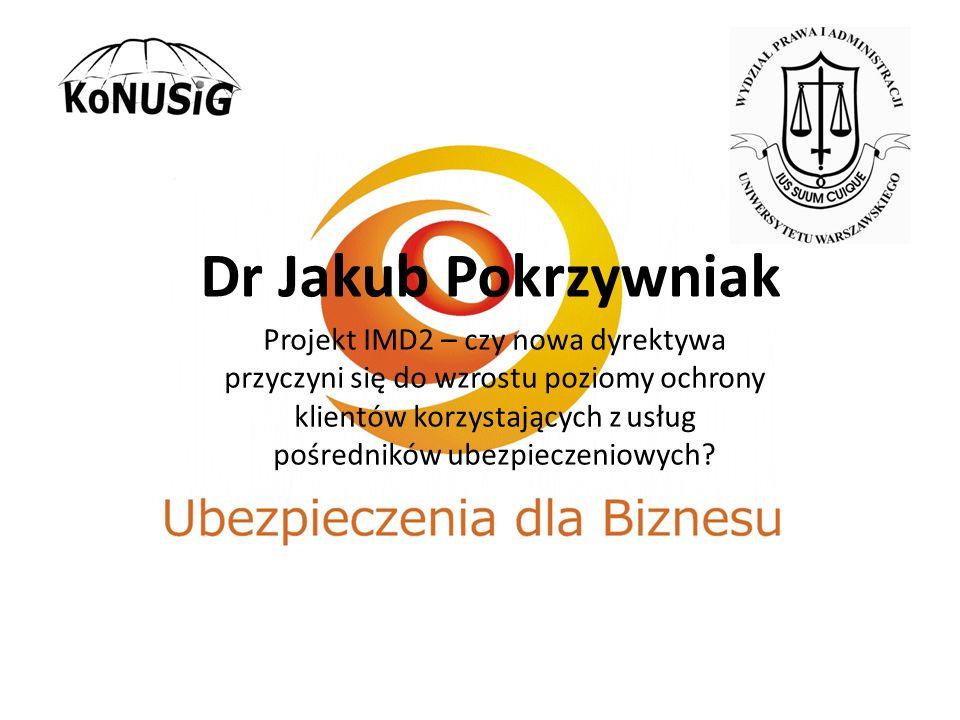 Dr Jakub Pokrzywniak