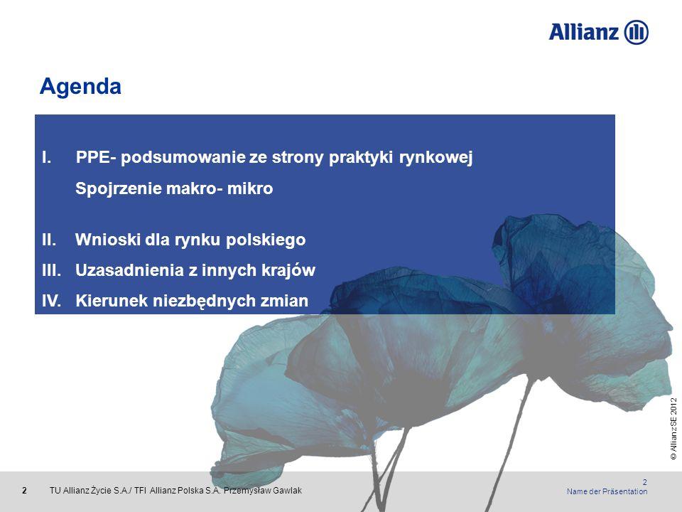 Agenda PPE- podsumowanie ze strony praktyki rynkowej