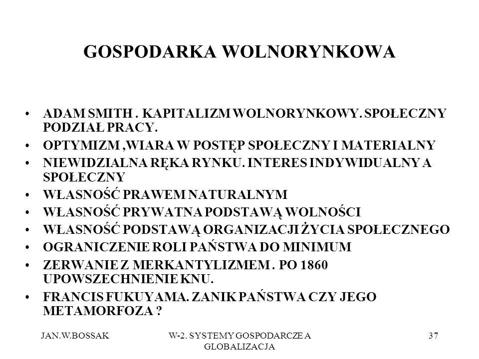 GOSPODARKA WOLNORYNKOWA