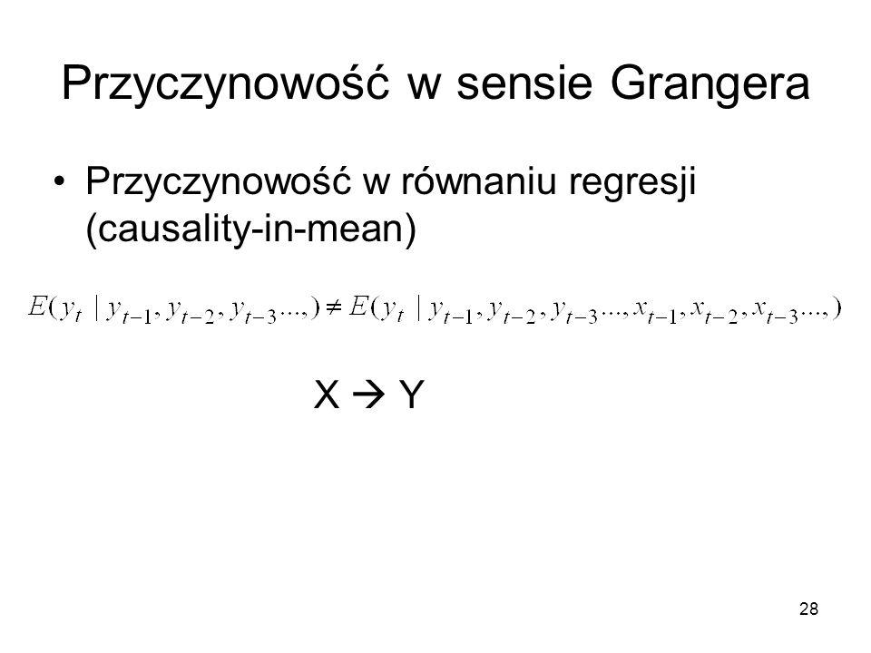 Przyczynowość w sensie Grangera