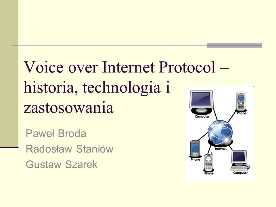 Voice over Internet Protocol – historia, technologia i zastosowania
