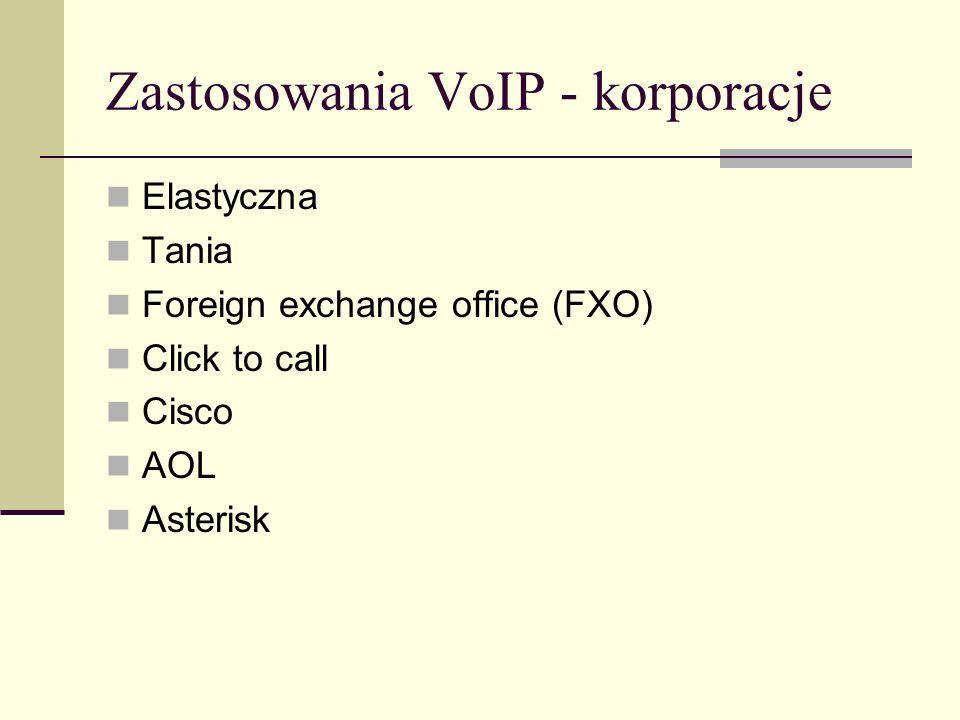 Zastosowania VoIP - korporacje