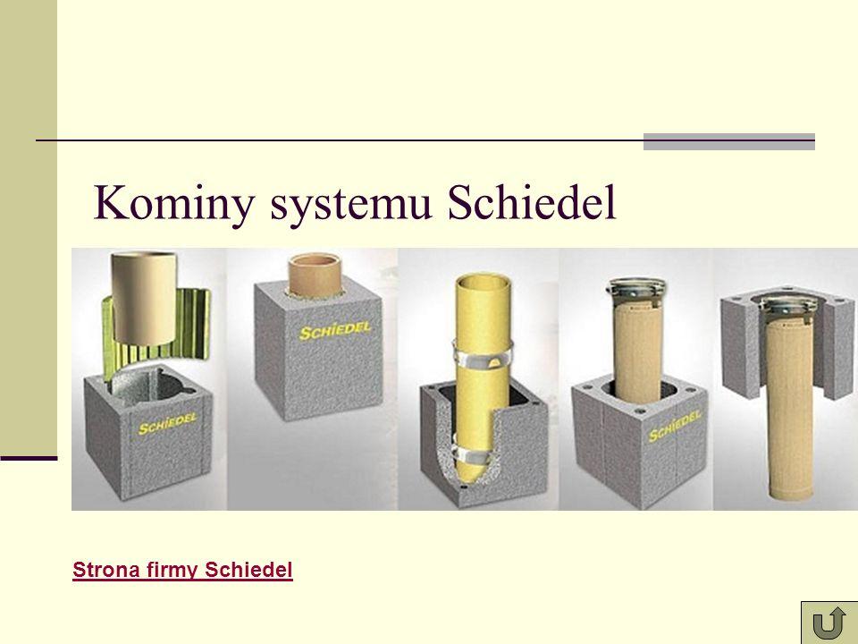 Kominy systemu Schiedel