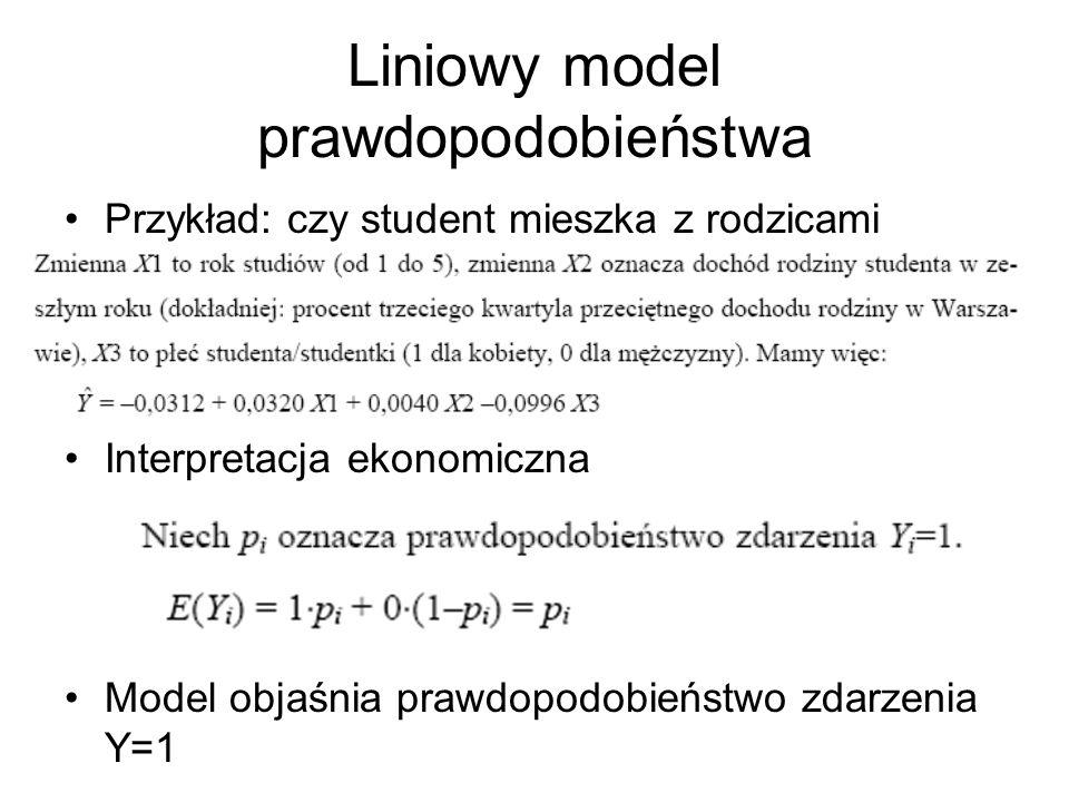 Liniowy model prawdopodobieństwa