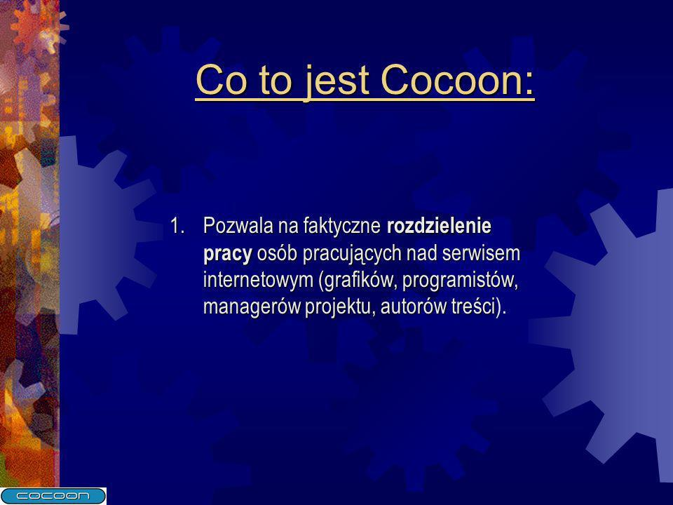 Co to jest Cocoon: