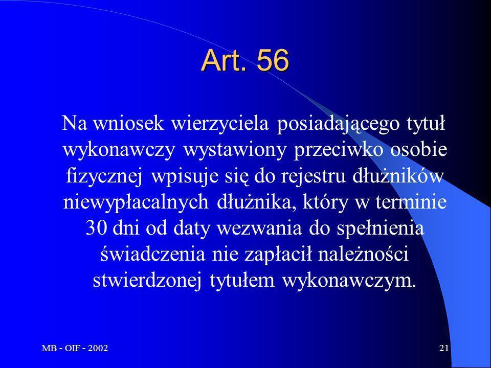 Art. 56