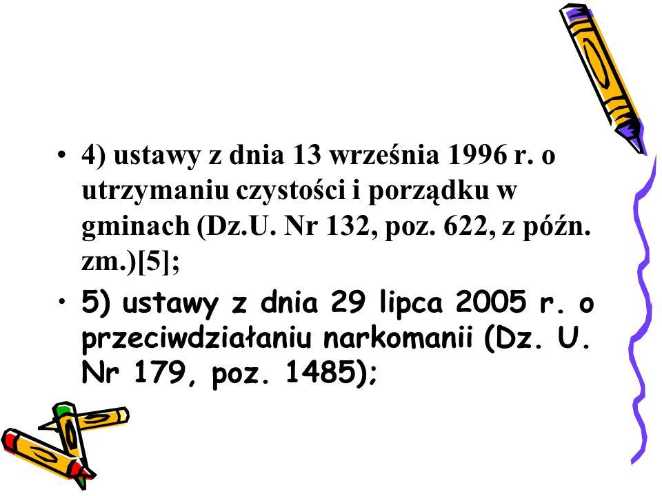 4) ustawy z dnia 13 września 1996 r