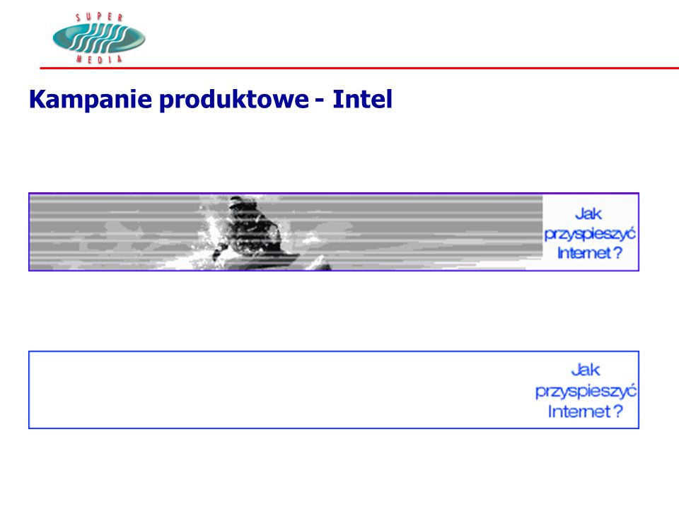 Kampanie produktowe - Intel