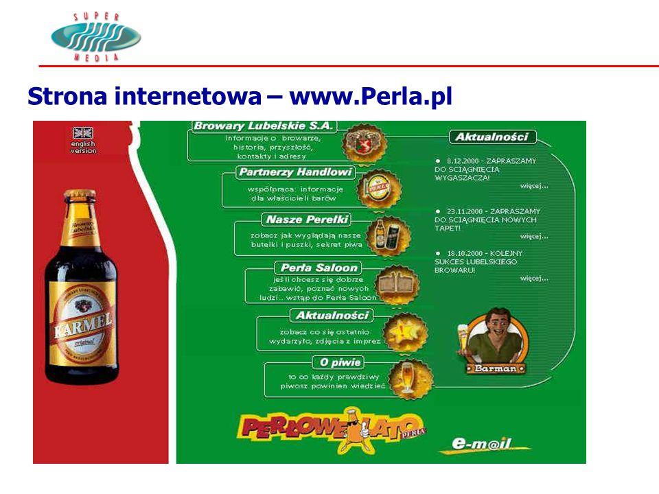 Strona internetowa – www.Perla.pl