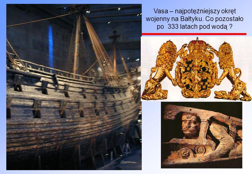 Vasa – najpotężniejszy okręt wojenny na Bałtyku