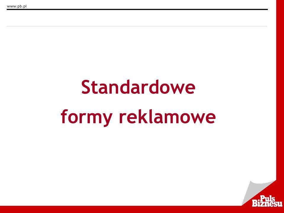 Standardowe formy reklamowe