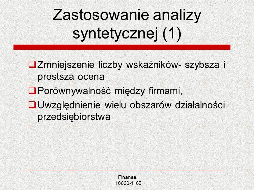 Zastosowanie analizy syntetycznej (1)