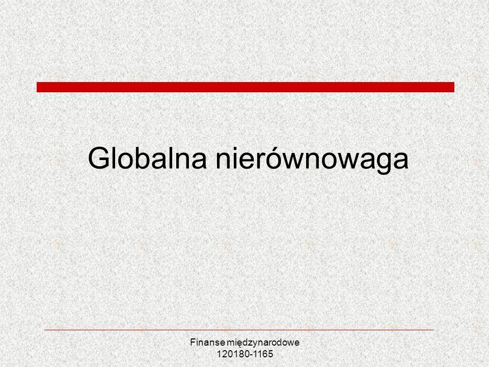 Globalna nierównowaga