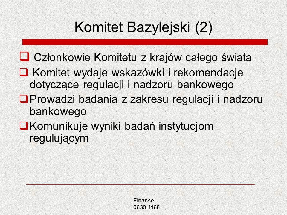 Komitet Bazylejski (2) Członkowie Komitetu z krajów całego świata
