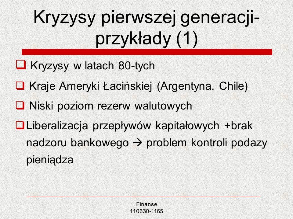 Kryzysy pierwszej generacji-przykłady (1)