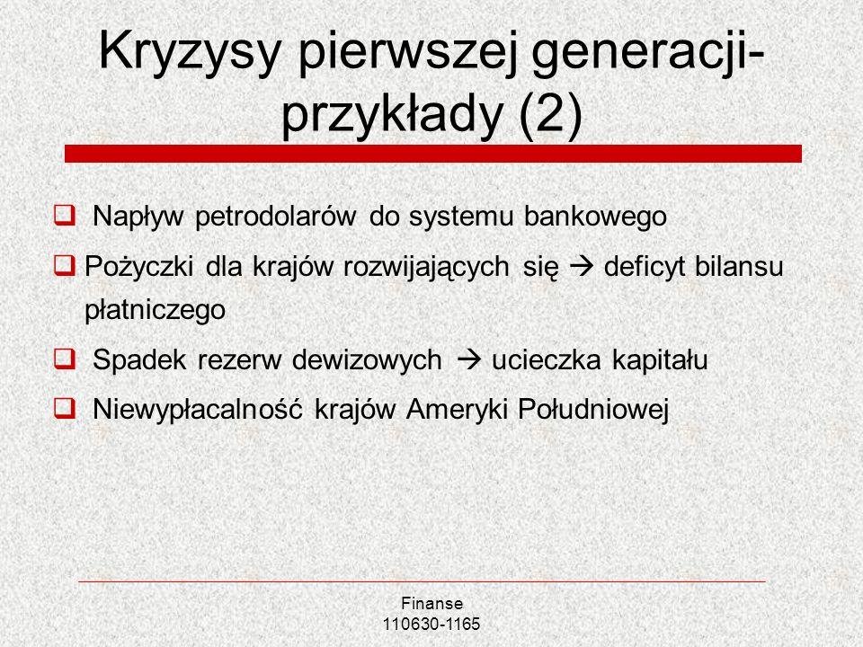 Kryzysy pierwszej generacji-przykłady (2)