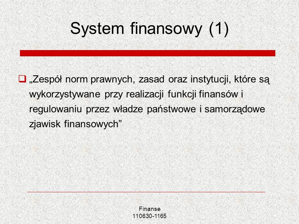 System finansowy (1)