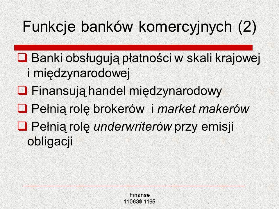 Funkcje banków komercyjnych (2)