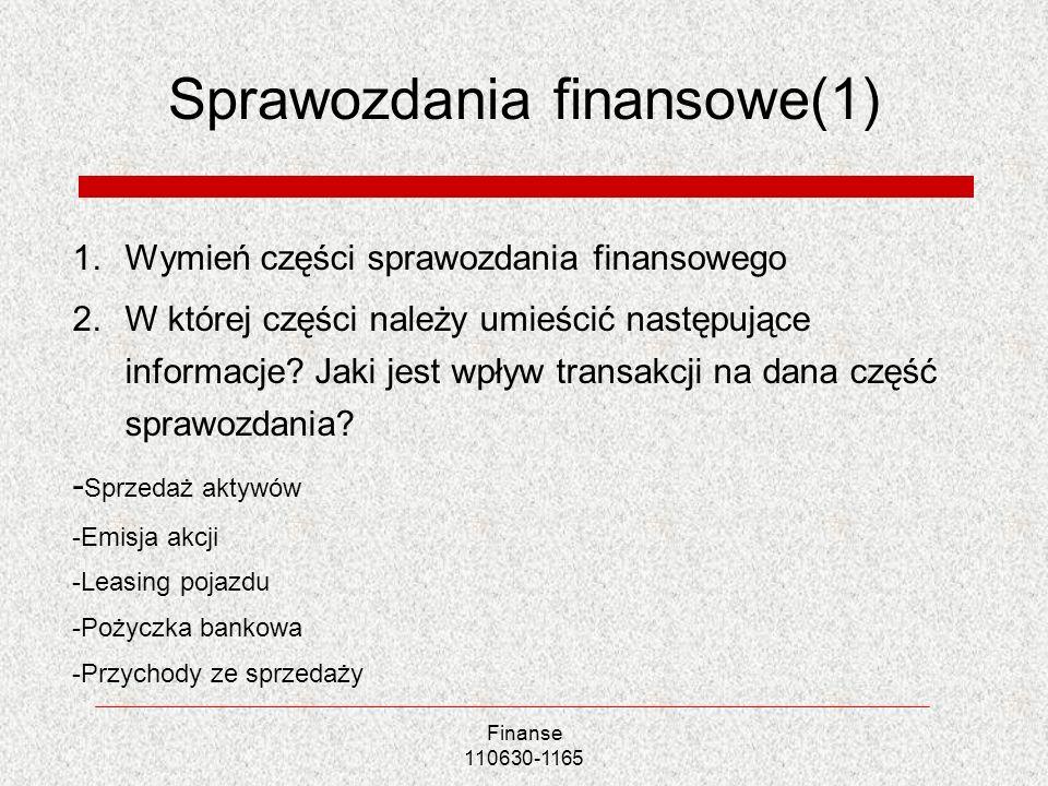 Sprawozdania finansowe(1)