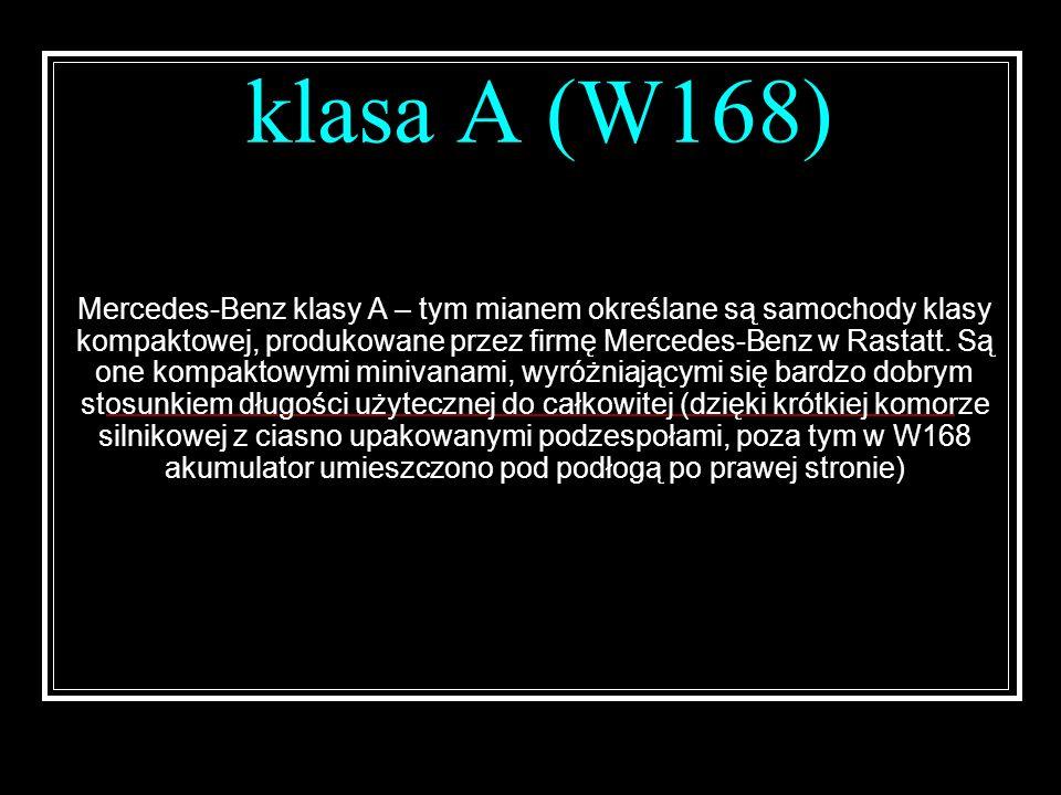 klasa A (W168)