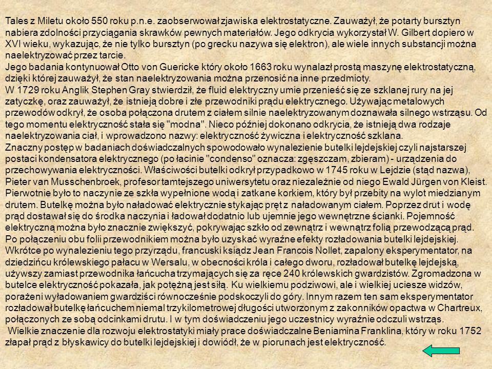 Tales z Miletu około 550 roku p. n. e