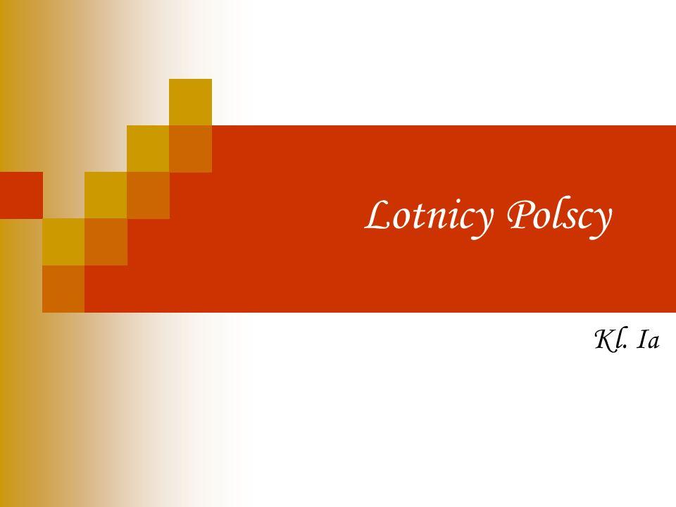 Lotnicy Polscy Kl. Ia