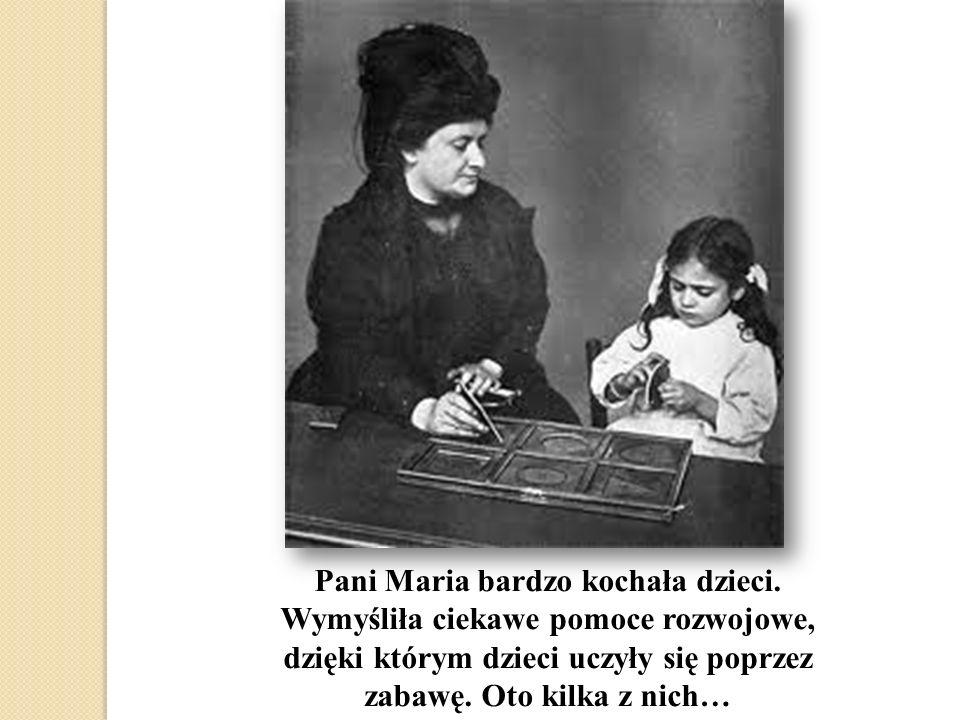 Pani Maria bardzo kochała dzieci.