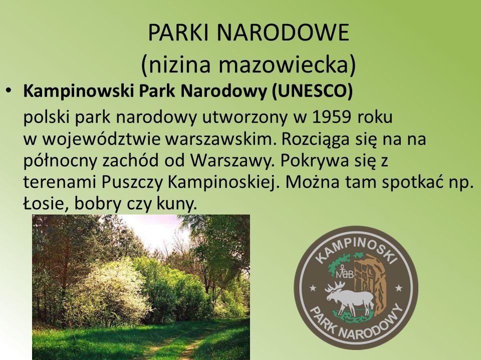 PARKI NARODOWE (nizina mazowiecka)