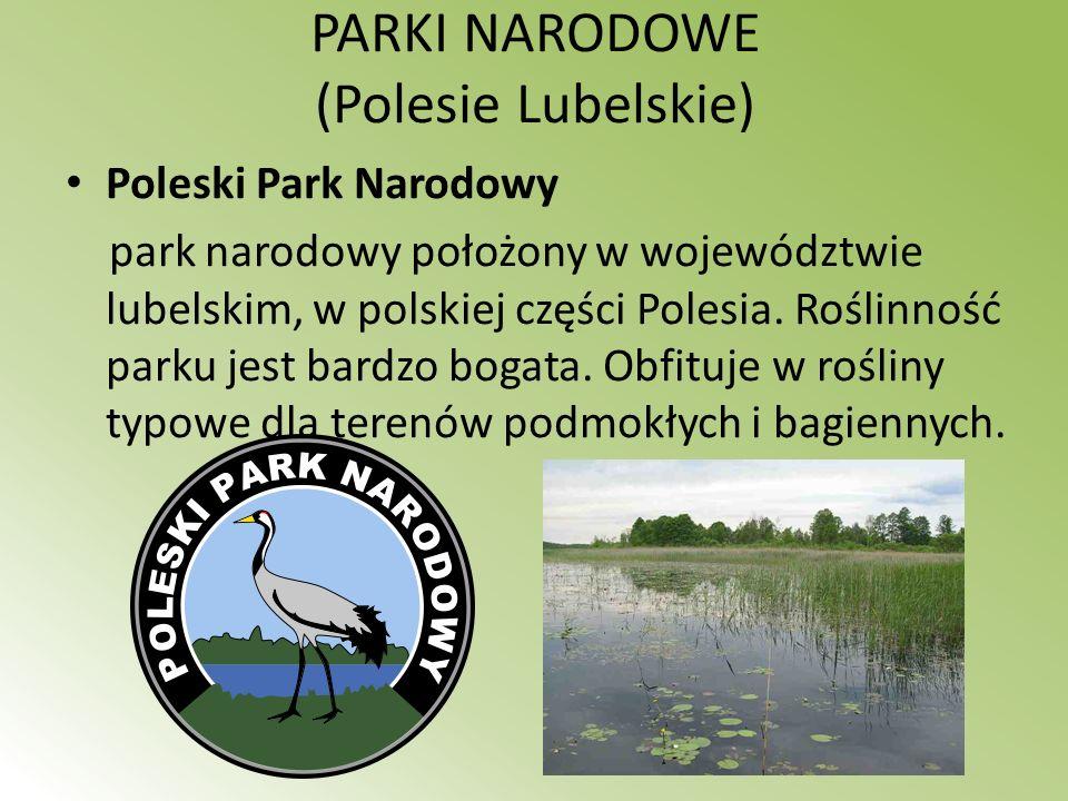 PARKI NARODOWE (Polesie Lubelskie)