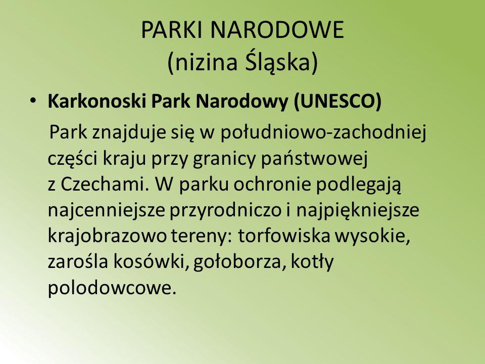 PARKI NARODOWE (nizina Śląska)