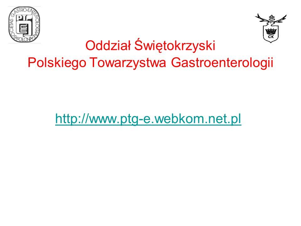 Oddział Świętokrzyski Polskiego Towarzystwa Gastroenterologii