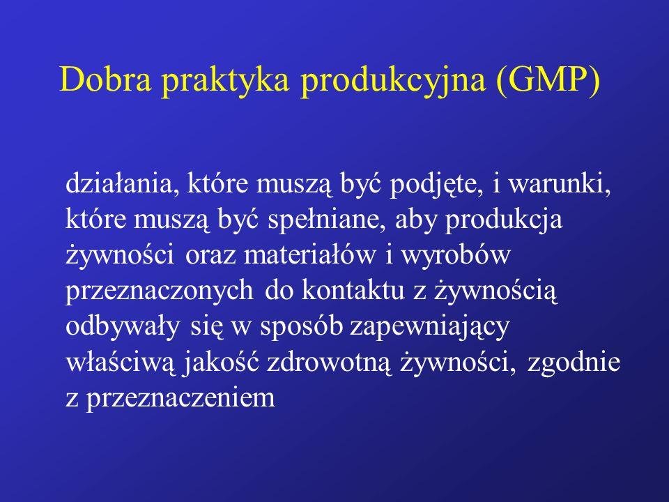 Dobra praktyka produkcyjna (GMP)