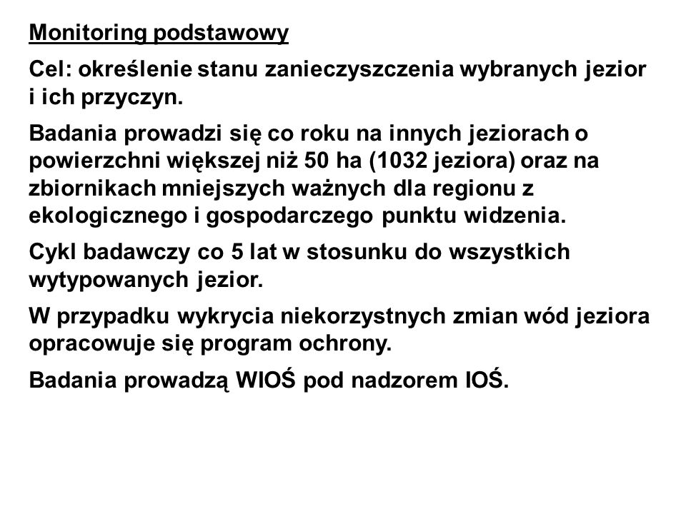 Monitoring podstawowy