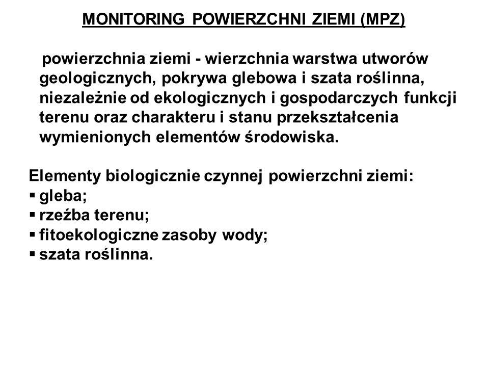 MONITORING POWIERZCHNI ZIEMI (MPZ)