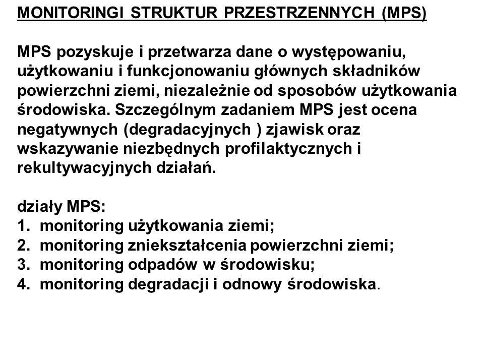MONITORINGI STRUKTUR PRZESTRZENNYCH (MPS)