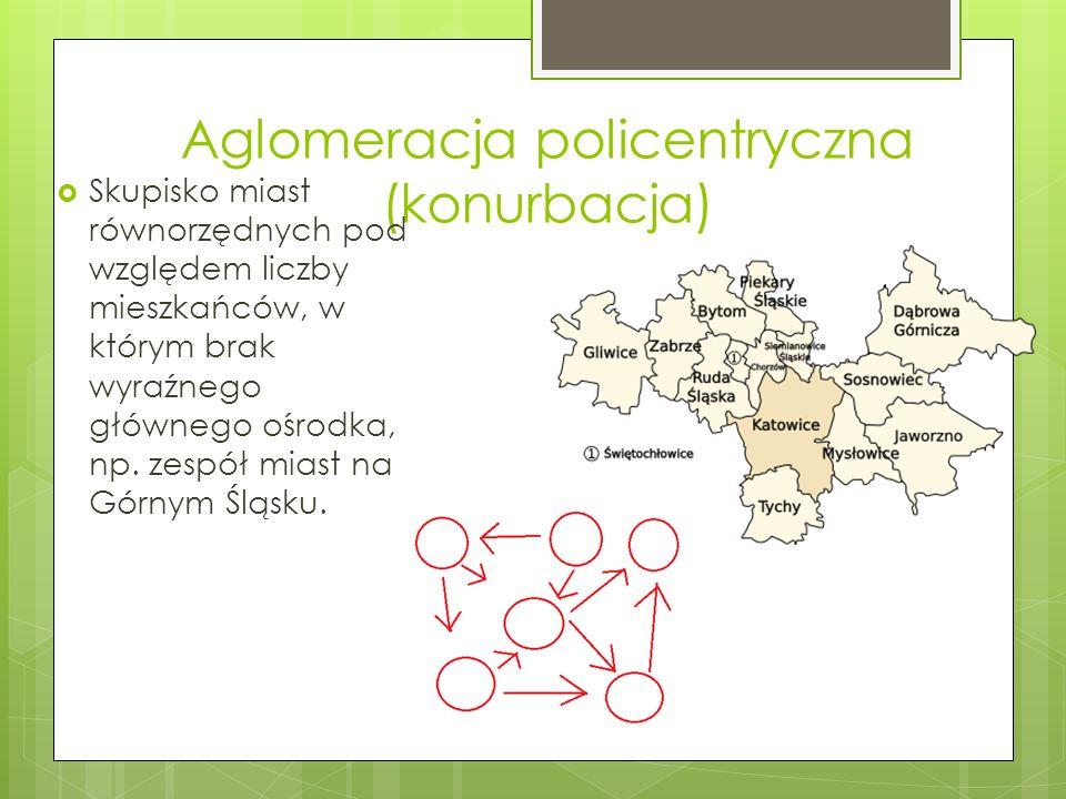Aglomeracja policentryczna (konurbacja)