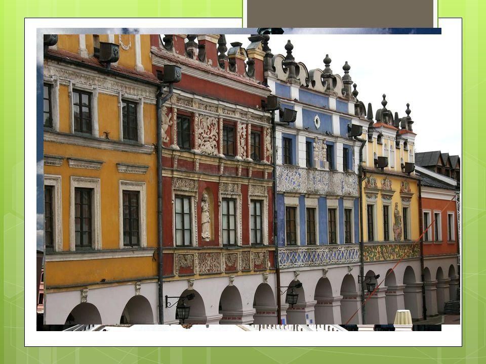 Główne miasta Zamość renesansowe miasto ośrodek turystyczny