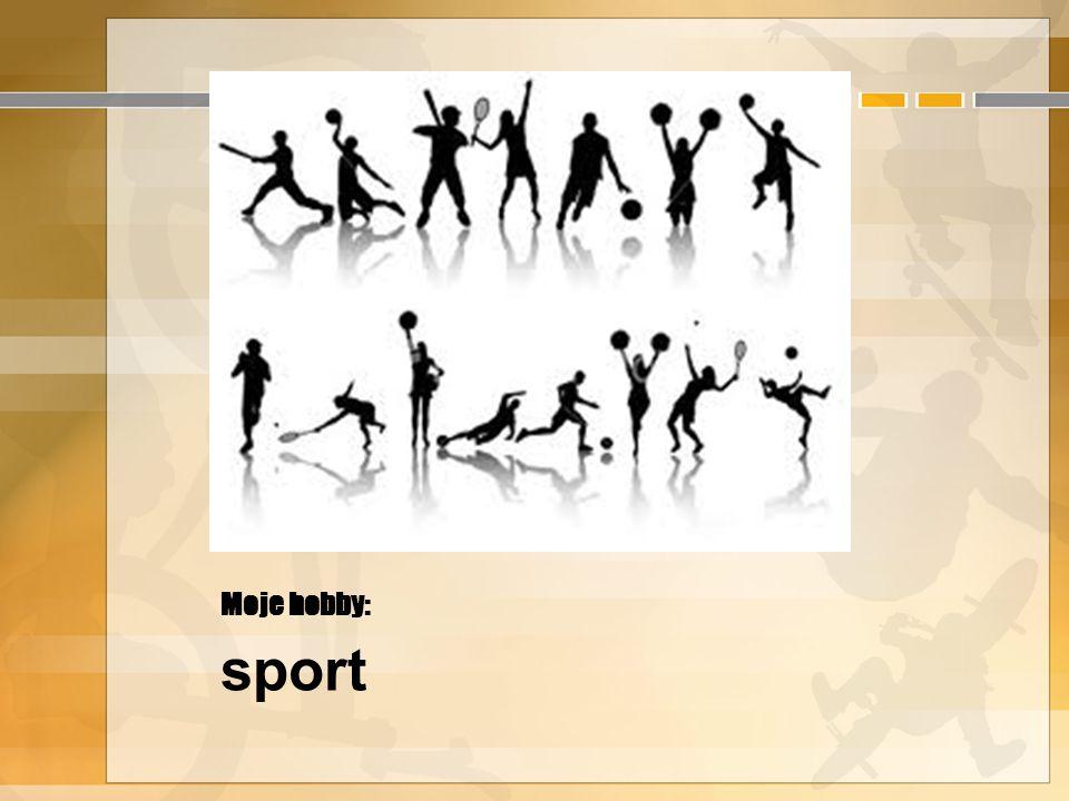 Moje hobby: sport